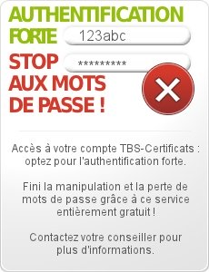 Authentification forte avec les certificats clients TBS X509